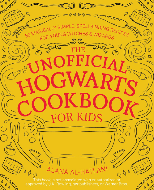 The Unofficial Hogwarts Cookbook for Kids - official cover