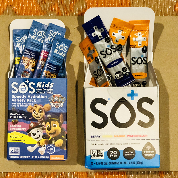 SOS Hydration Packets