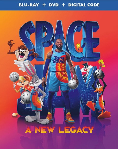 Space Jam - A New Legacy_Blu-ray_DVD
