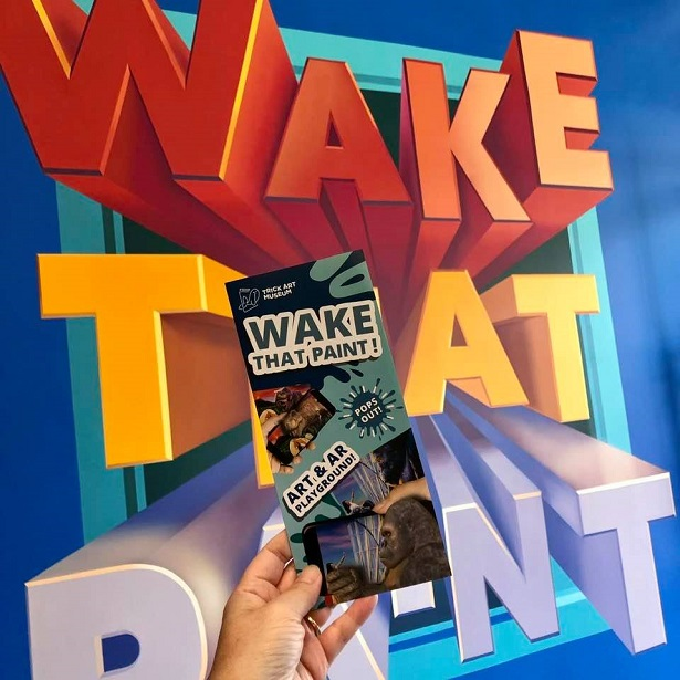 3D Augmented Reality - Wake That Paint