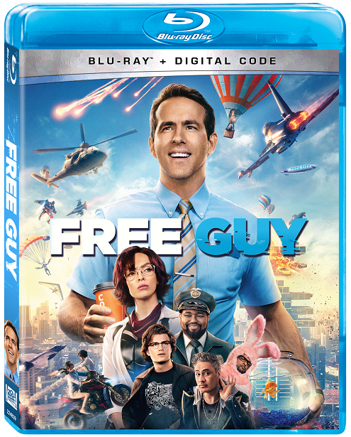 Free Guy_Blu-ray-Digital Code