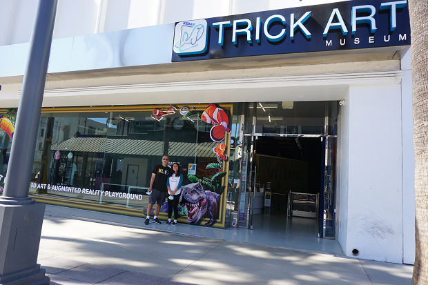 Trick Art Museum - outside signage
